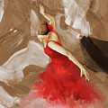 Flamenco Dance Women 02 by Gull G