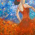 Flamenco Dancer by Gabriela Montemayor