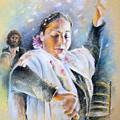 Flamenco Dancer by Miki De Goodaboom