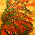 Flamenco Flame - Tile by Gloria Ssali