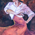 Flamenco In Red by Suzanne Stokes