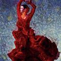 Flamenco Senorita Fuerza by Humphrey Isselt