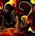 Flames And Faces by Katina Cote