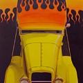 Flames by Rick Bennett