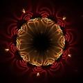 Flaming Night Flower by Aunita Tyler