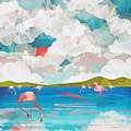 Flamingo Dream by Spacefrog Designs
