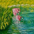 Flamingo by Elena Pronina