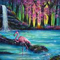 Flamingo Falls by Ann Marie Bone