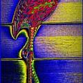 Flamingo IIi by Leslie Revels