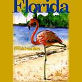 Flamingo In Florida Shirt by John D Benson