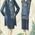 Flappers In Frocks And Coats, 1928  by American School