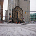 Flat Iron Detroit by Stephen Crosson
