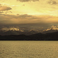 Flathead Lake Montana by David Ross
