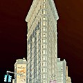 Flatiron Building Inverted by Randy Aveille