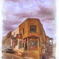 Flatiron Building Of Jerome Arizona by Priscilla Burgers