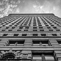 Flatiron Building Sky Black And White by Alissa Beth Photography
