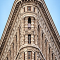 Flatiron Head On by Framing Places