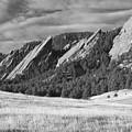 Flatiron Morning Light Boulder Colorado Bw by James BO  Insogna