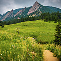 Flatirons by Aaron D Kelly