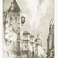 Fleet  Street by F Hobson