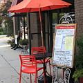 Flemington, Nj - Sidewalk Cafe by Frank Romeo
