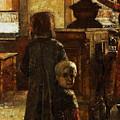 Flemish Tavern by Lesser Ury