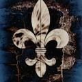 Fleur De Lis by Elaine Manley