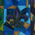 Fleur De Lis Trinity by Patti Schermerhorn