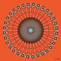 Fleuron Composition No 236 by Alan Bennington