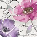 Fleurs De France IIi by Mindy Sommers