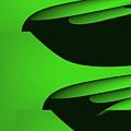 Flight - Green Version by Barry King