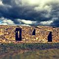 Flinders Ranges Ruins V2 by Douglas Barnard