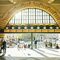 Flinders Station by Franz Zarda