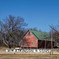 Flint Hills Barn by Alan Hutchins