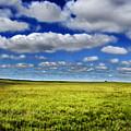 Flint Hills Panorama 1 by Eric Benjamin