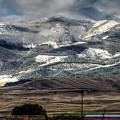 Flint Ridge Range, Deer Lodge, Mt by Greg Sigrist
