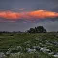Flinthills Sunset by Crystal Nederman