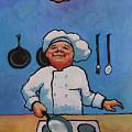 Flipping Pancakes by Robert Bissett