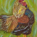 Flirty Hen by Lesley Mills