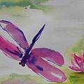 Float Like A Dragonfly by Tara Moorman