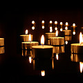 Floating Candles by Agusta Gudrun  Olafsdottir