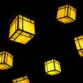 Floating Lanterns by David Lee Thompson