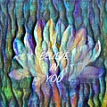 Floating Lotus - I Believe In You by Artistic Mystic