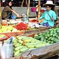 Floating Market In Thailand by Eunice Warfel