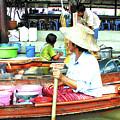 Floating Market Thailand by Eunice Warfel