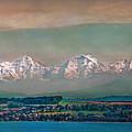 Floating Swiss Alps by Hanny Heim