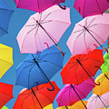 Floating Umbrellas by Robin Zygelman