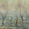 Flood In Giverny by Claude Monet