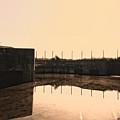 Flooded Defences by Nigel Bangert