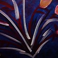 Floral Abstract by Noka Stoeckley